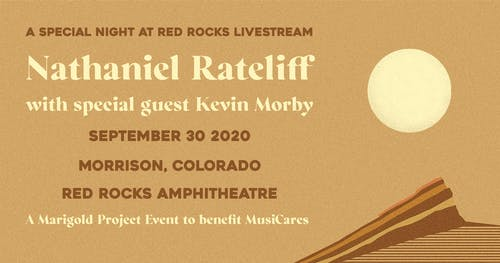 A Special Night At Red Rocks Livestream with Nathaniel Rateliff