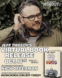 Jeff Tweedy 'How To Write One Song' Book Release