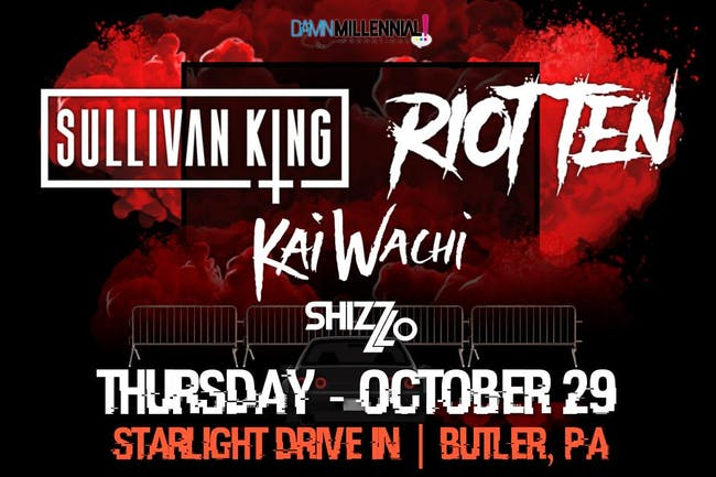 Sullivan King & Riot Ten