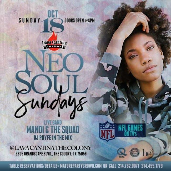 NEO SOUL SUNDAYS feat #Mandi & The Squad