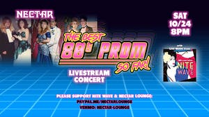NVCS presents NITE WAVE Best '80s PROM Ever! (so far) Live Stream