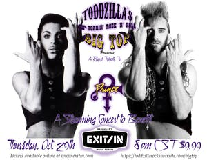 Todzilla's Prince Tribute Live Stream - A Benefit For EXIT/IN