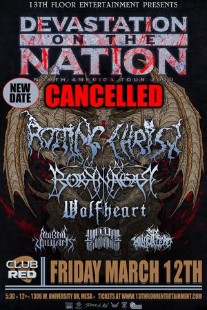 Devastation On The Nation Tour