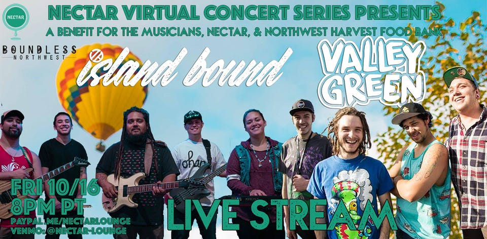 NVCS  presents VALLEY GREEN & ISLAND BOUND