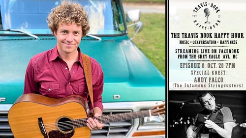 Travis Book Happy Hour ft Andy Falco of The Infamous Stringdusters