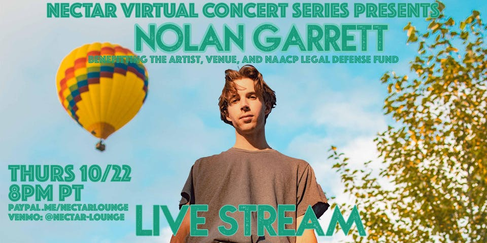 NVCS  presents NOLAN GARRETT