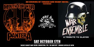 Mouth For War- a tribute to Pantera & War Ensemble- a tribute to Slayer