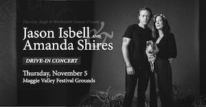 SOLD OUT - Jason Isbell and Amanda Shires: Drive-In at MV Festival Grounds