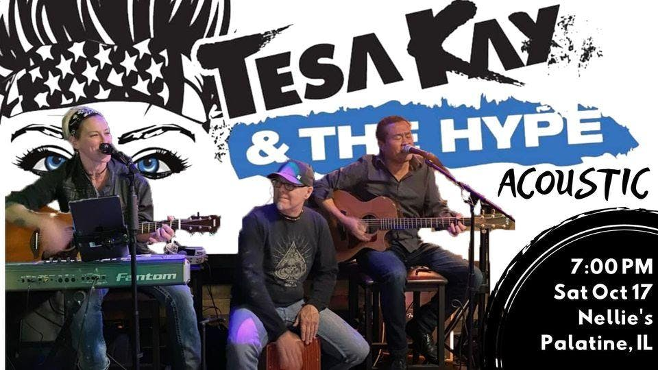 Tesa Kay & The Hype Acoustic Returns To Nellie's