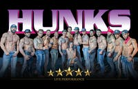 The Hunks Male Review Show!