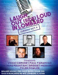 Laugh Out(side) Loud in Lombard