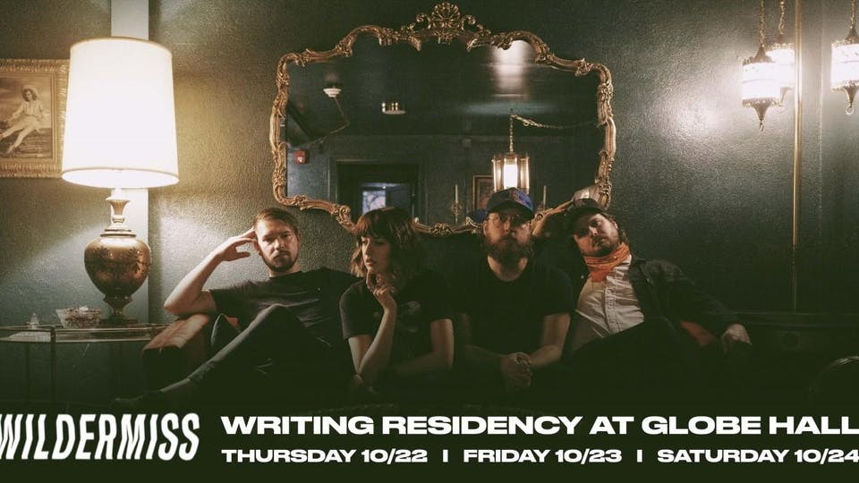Wildermiss Writing Residency -- Day One -- Early Show