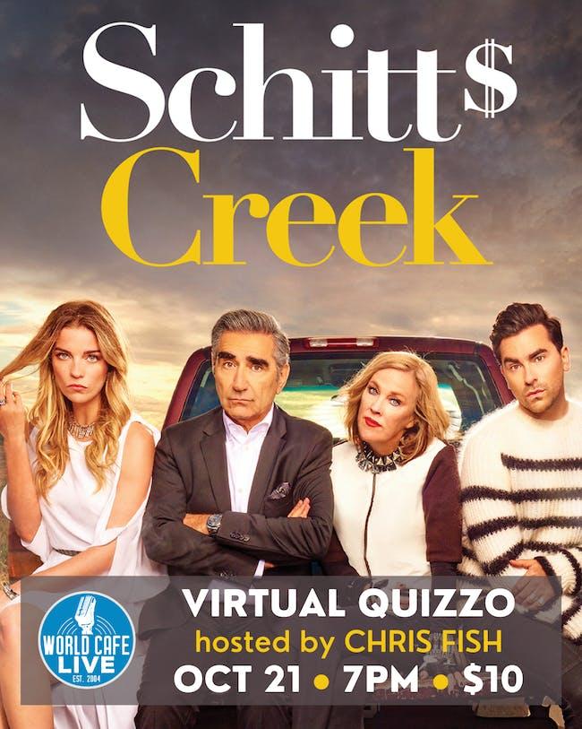 Virtual Schitt's Creek Quizzo