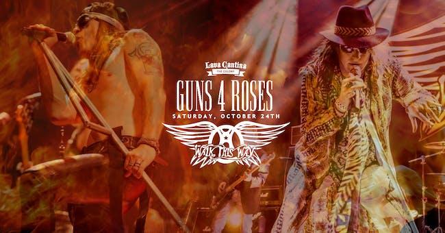 Guns 4 Roses and Walk This Way [Limited Seating]