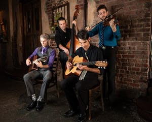 PATIO SHOW: The Hot Club of Asheville