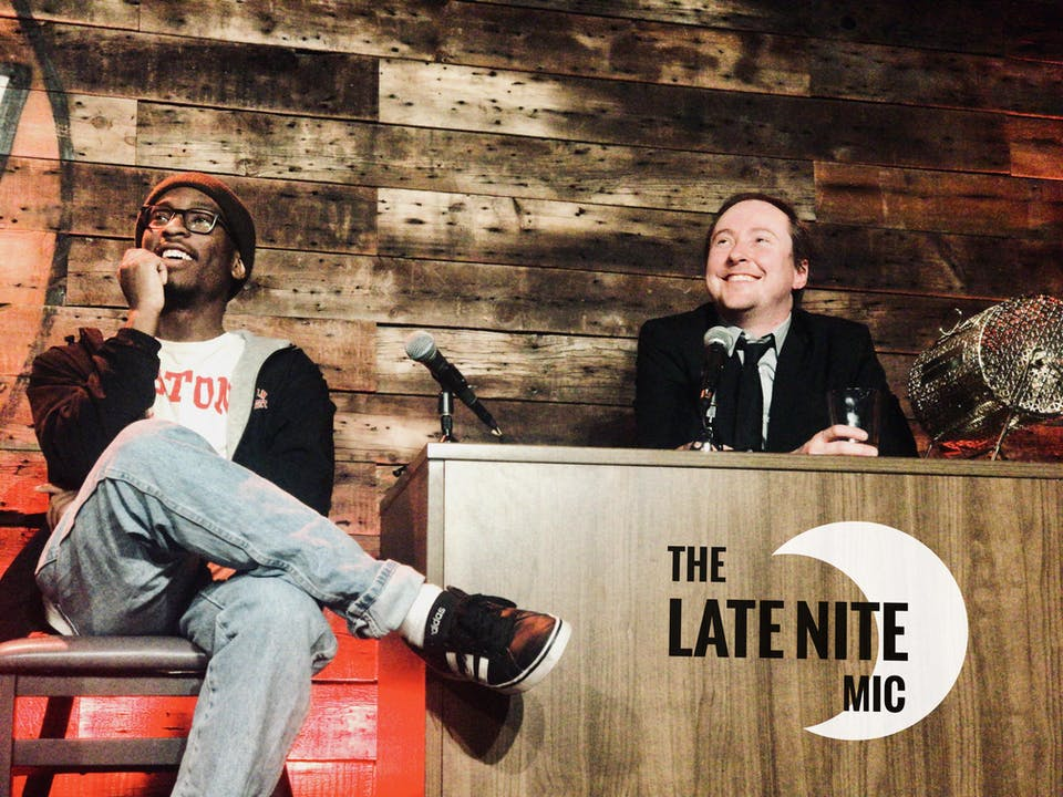 SUNDAY OCTOBER 18: THE LATE NITE MIC