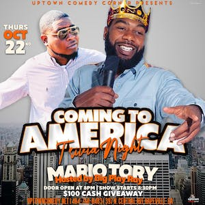 Coming to America Theme Trivia & Comedy Night Hosted by Big Play Ray
