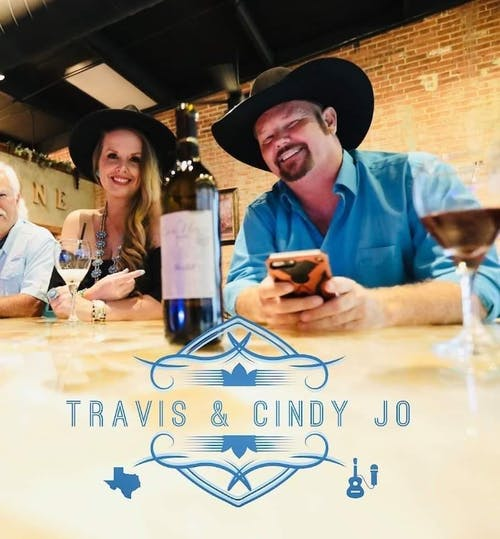 Travis and Cindy Jo with special guest Casey Baker