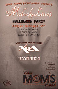 Melody Lines Halloween Party w/ Xoa (Late Show)