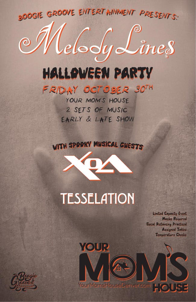 Melody Lines Halloween Party w/ Tesselation (Early Show)