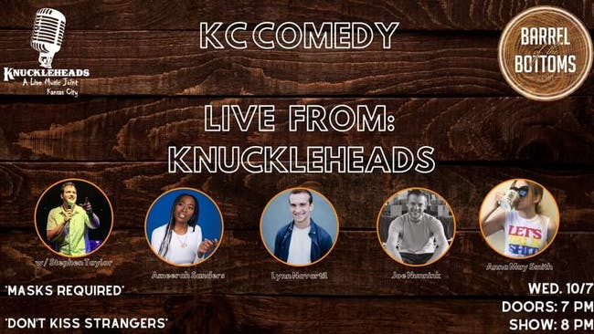 CANCELED KC Comedy: Live from Knuckleheads