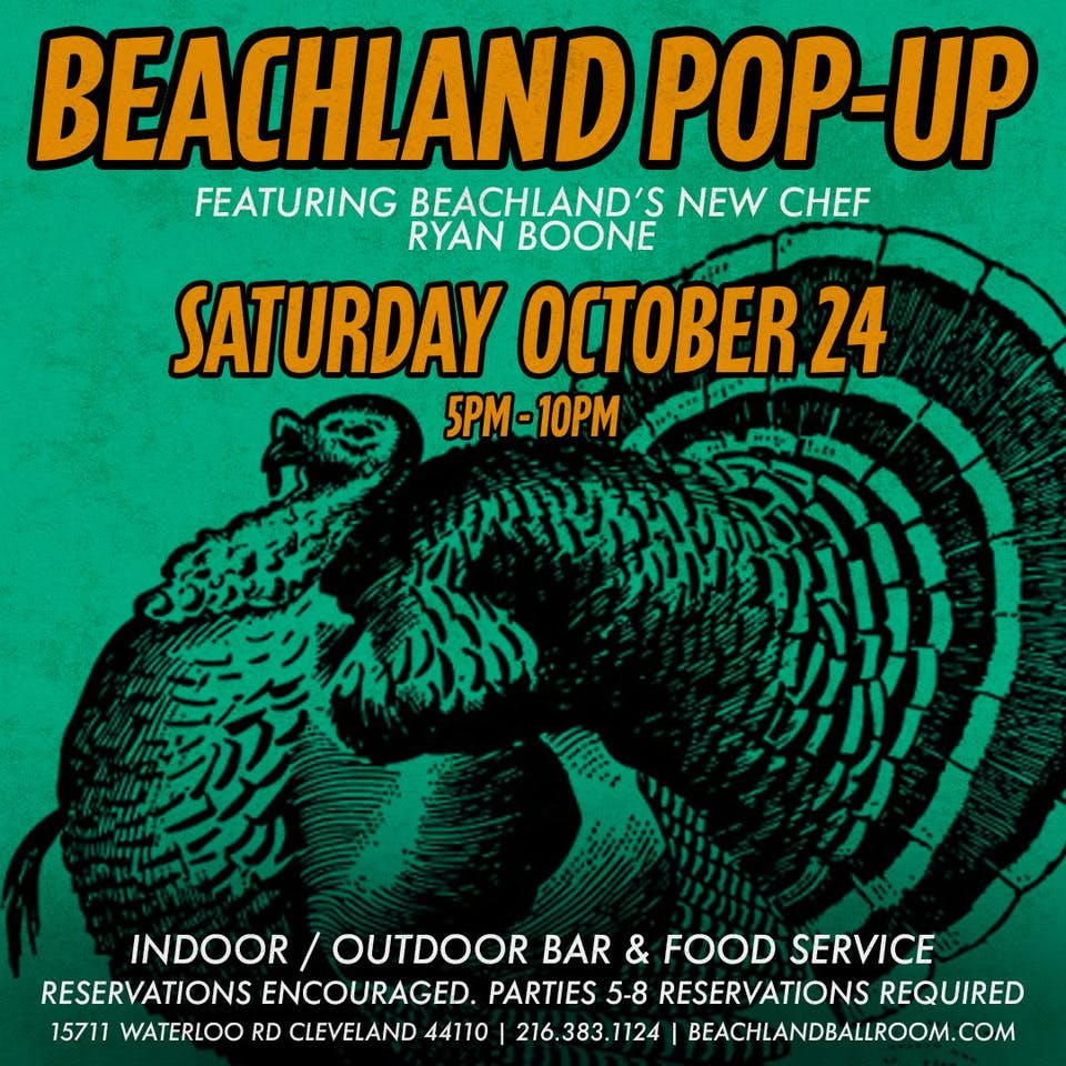 Beachland Pop-Up feat. Ryan Boone
