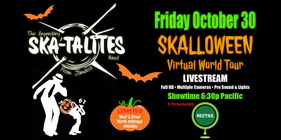 THE SKATALITES 'Skalloween' Virtual World Tour