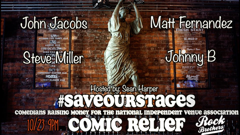 Save Our Stages: Comic Relief