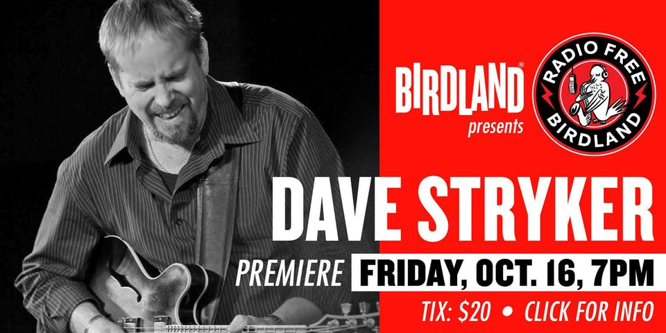 Dave Stryker Solo Guitar Streamed from Birdland