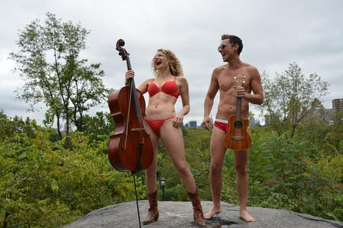 """The Skivvies: """"Classic Undie Rock"""" Streamed from Birdland On Demand!"""
