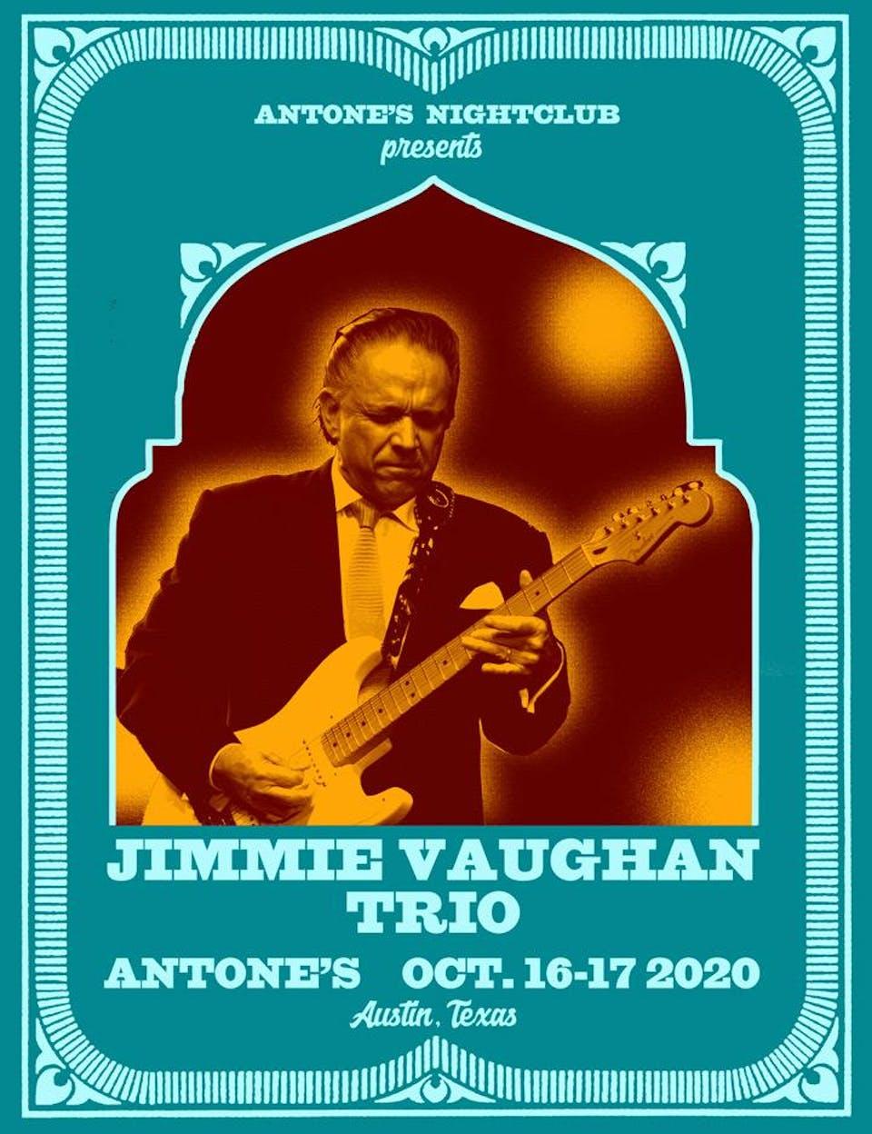 Jimmie Vaughan Trio