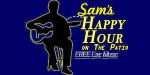 Sam's Happy Hour on The Patio with Andrea Elizarraraz