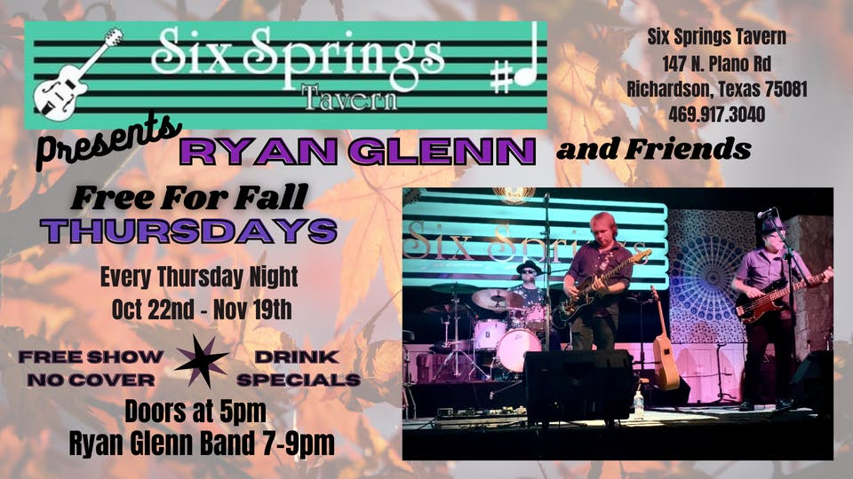 Free For Fall with Ryan Glenn  and Friends