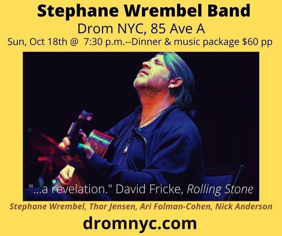 Stephane Wrembel Band.