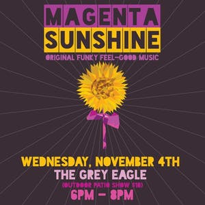 PATIO SHOW: Magenta Sunshine
