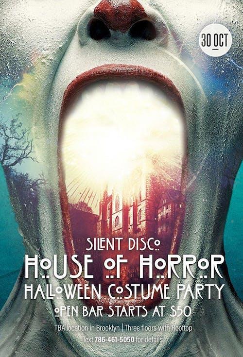 Silent Disco House of Horror 10/30