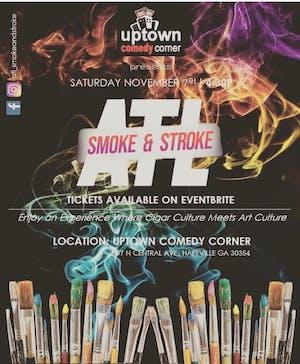 ATL SMOKE & STROKE, CIGARS MEET ART