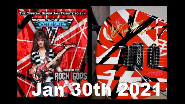 Eddie Van Halen Tribute by The Rock Gods
