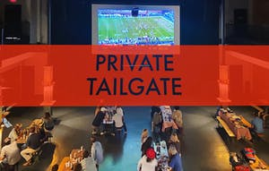 Closed for Private Tailgate
