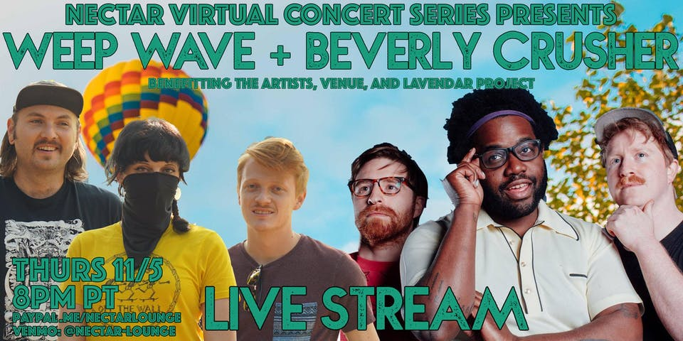NVCS  presents WEEP WAVE + BEVERLY CRUSHER