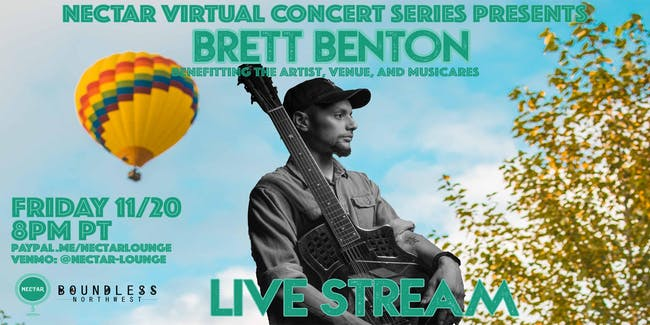NVCS  presents BRETT BENTON