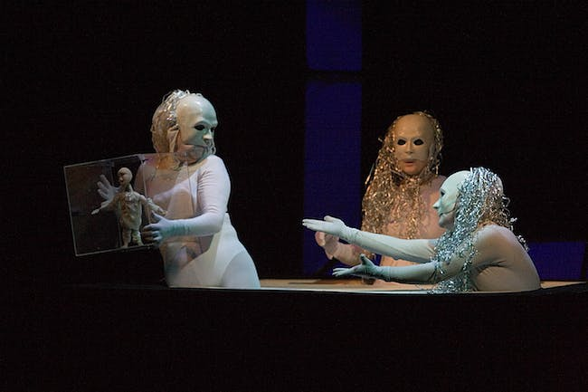 Poem Without Words by Grogno Regional Puppet Theatre (Belarus)