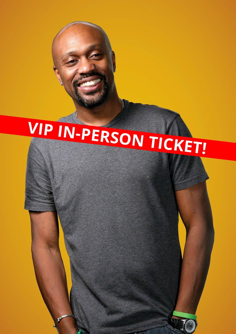 Tony Woods: Live and In-Person Comedy Event