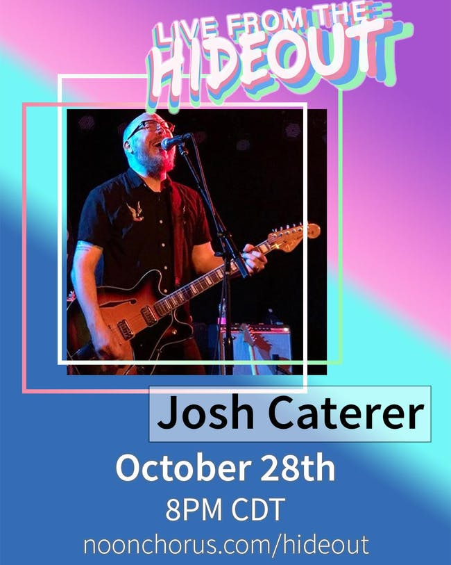Josh Caterer (of the Smoking Popes) Live from the Hideout