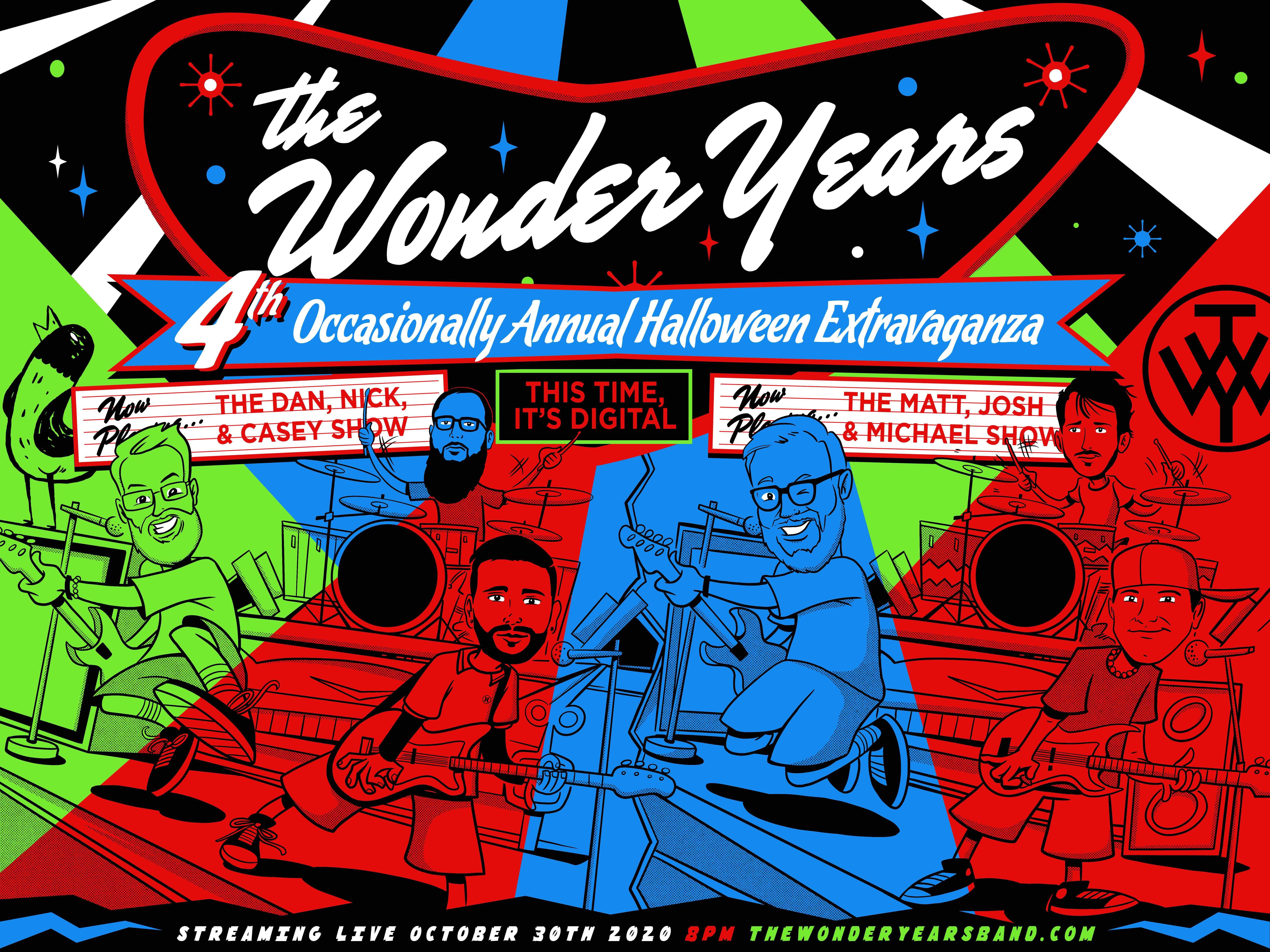 The Wonder Years: Halloween Extravaganza Livestream Concert