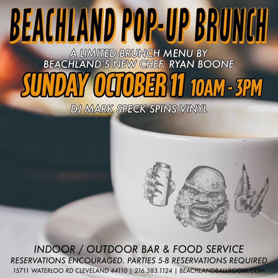 Beachland Pop-Up Brunch feat. Ryan Boone