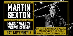 Martin Sexton: Drive-In Concert at Maggie Valley Festival Grounds