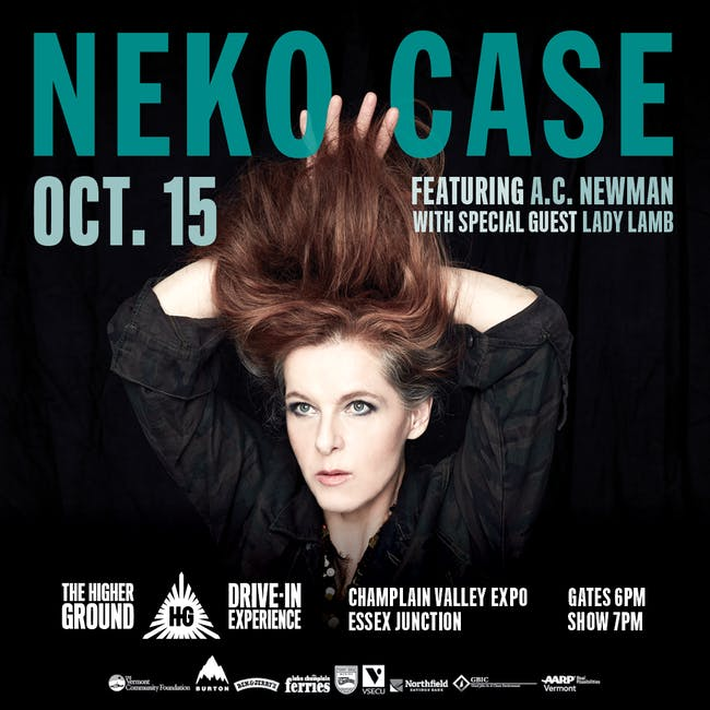 Neko Case feat. A.C. Newman with special guest Lady Lamb at the Drive-In