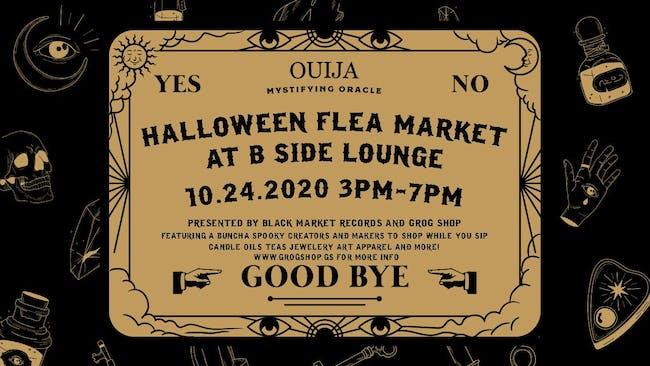Halloween Flea Market