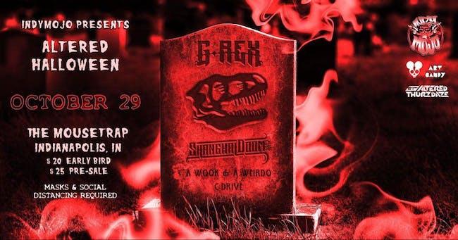 Altered Halloween w/ G-Rex & Shanghai Doom